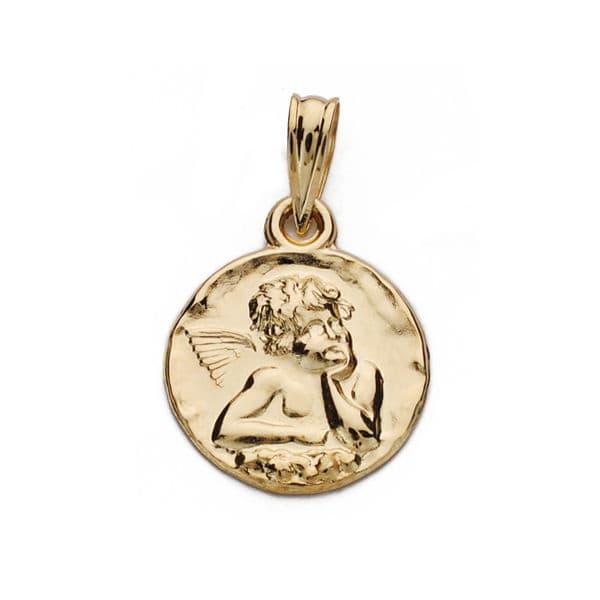 Medalla Angelito 14 Mm. 1,35 GrSan