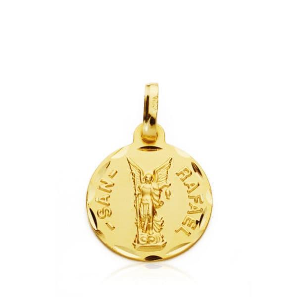 Medalla San Rafael. 14 Mm. 1.40 Grs