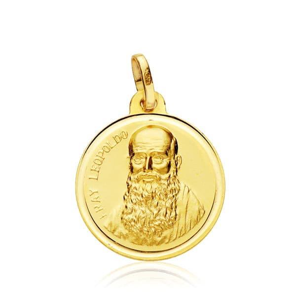 Medalla Fray Leopoldo 18 Mm. 2,15 Grs