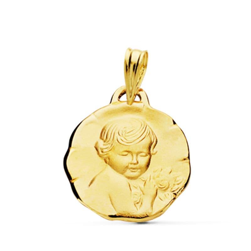 Medalla Angel Querubín 1,90 GrSan