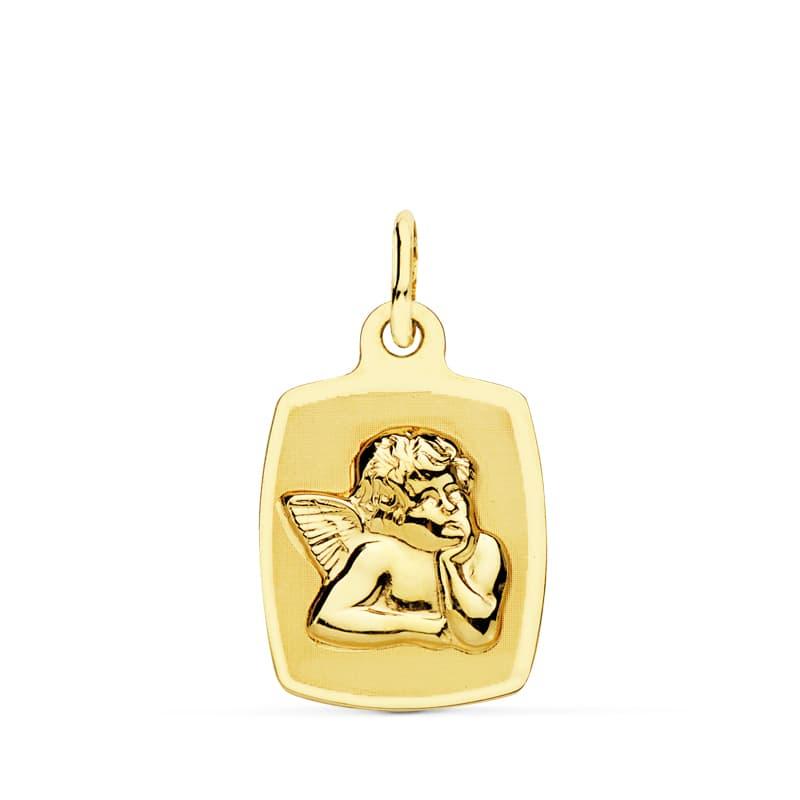Medalla Ángel Tonel. 19 X 13 Mm. 1,15 Gr