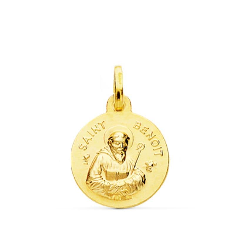 Medalla Saint Benoit 14 Mm. 1,50 Grs