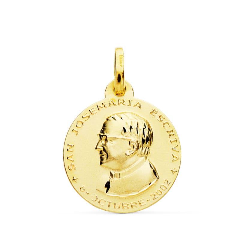 Medalla San Jose María Escrivá 18mm. 2,40gr