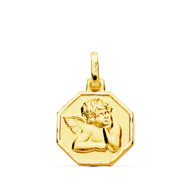Medalla Angelito. 16 X 13 Mm. 1.00 GrSan