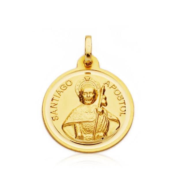 Medalla Santiago Apóstol 18mm.2.25gr.