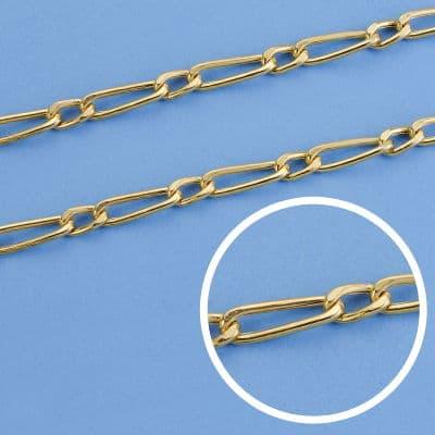 Cadena Cartier Hueca 50 Cm. 4,5 Mm 11.50gr