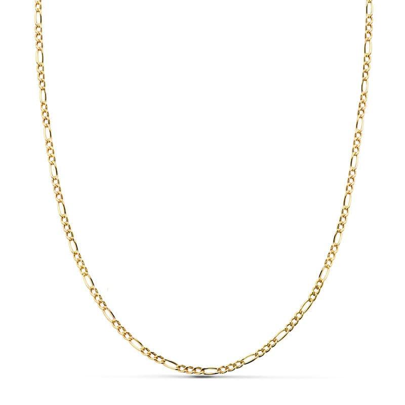Cadena Cartier Hueca 50 Cm. 2 Mm. 2,30 Gr