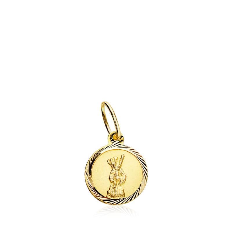 Medalla Cristo Del Gran Poder 8 Mm