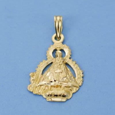 Virgen de la Cabeza Escudo. 22 X 15 Mm. 1.90 Grs