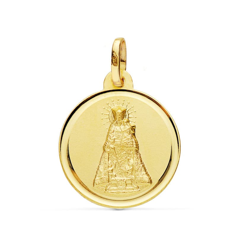 Medalla Virgen de los Desamparados 18mm. 2.25Grs