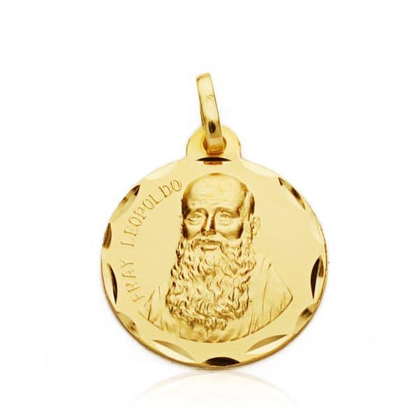 Medalla Fray Leopoldo 17 Mm. 2.50 Grs