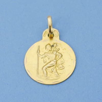 Medalla San  Cristobal. 15 Mm. 1.60 Grs