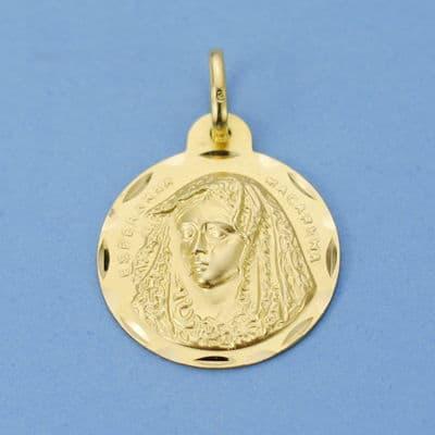 Medalla Macarena. 20 Mm. 2,80 Grs