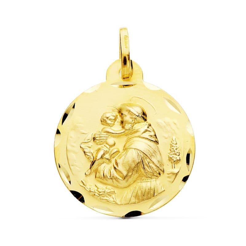 Medalla San Antonio. 22 Mm. 3.25 Grs