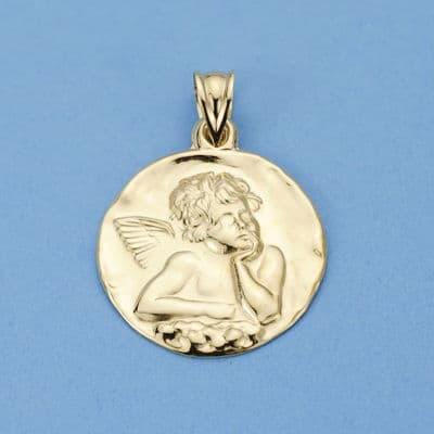 Medalla Angelito 24 Mm. 4.10 GrSan