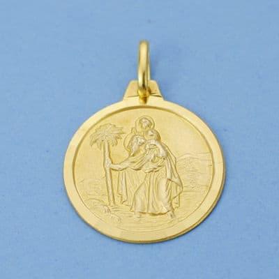 Medalla San Cristobal. 18 Mm. 2.70 Grs