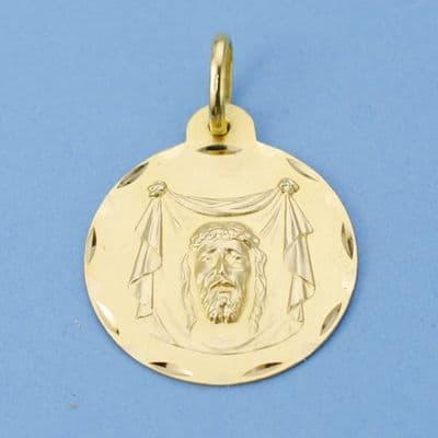 Medalla Santa Faz. 22 Mm. 3.40 Grs