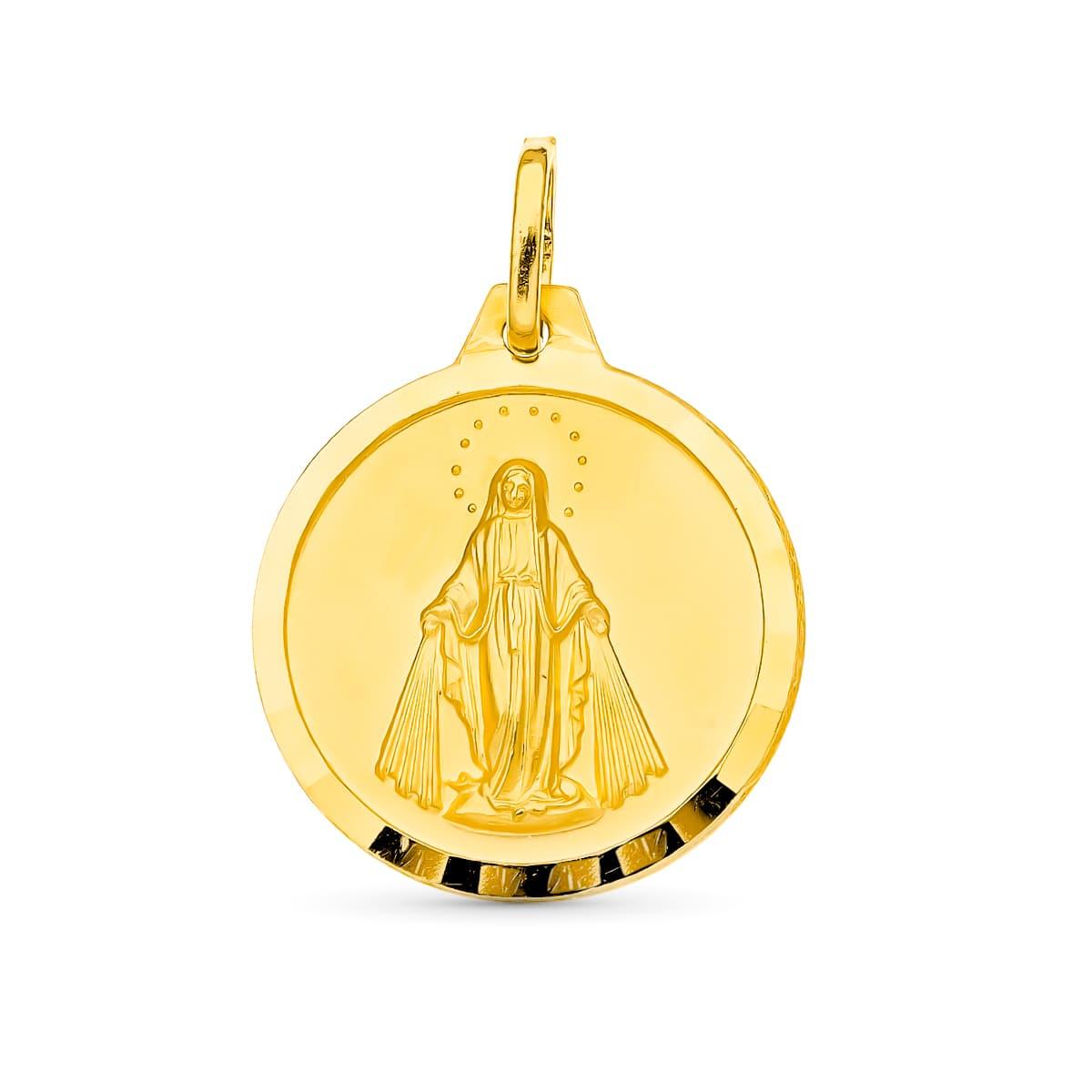 Virgen Milagrosa 18 Mm. 2,50 Grs