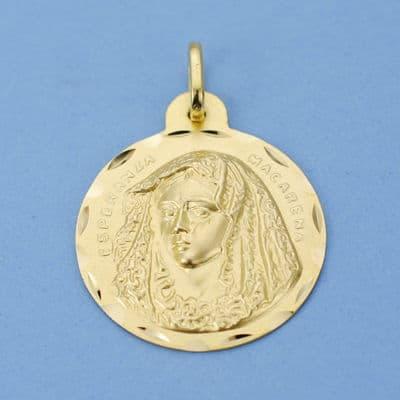 Medalla Macarena. 24 Mm. 4,15 Grs