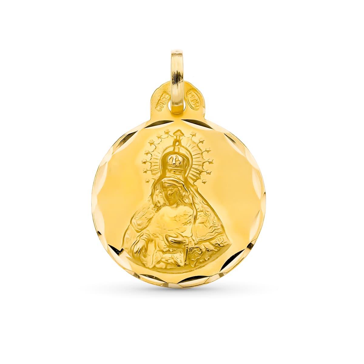 Medalla Virgen del Macarena 17 Mm. 2.10 Grs