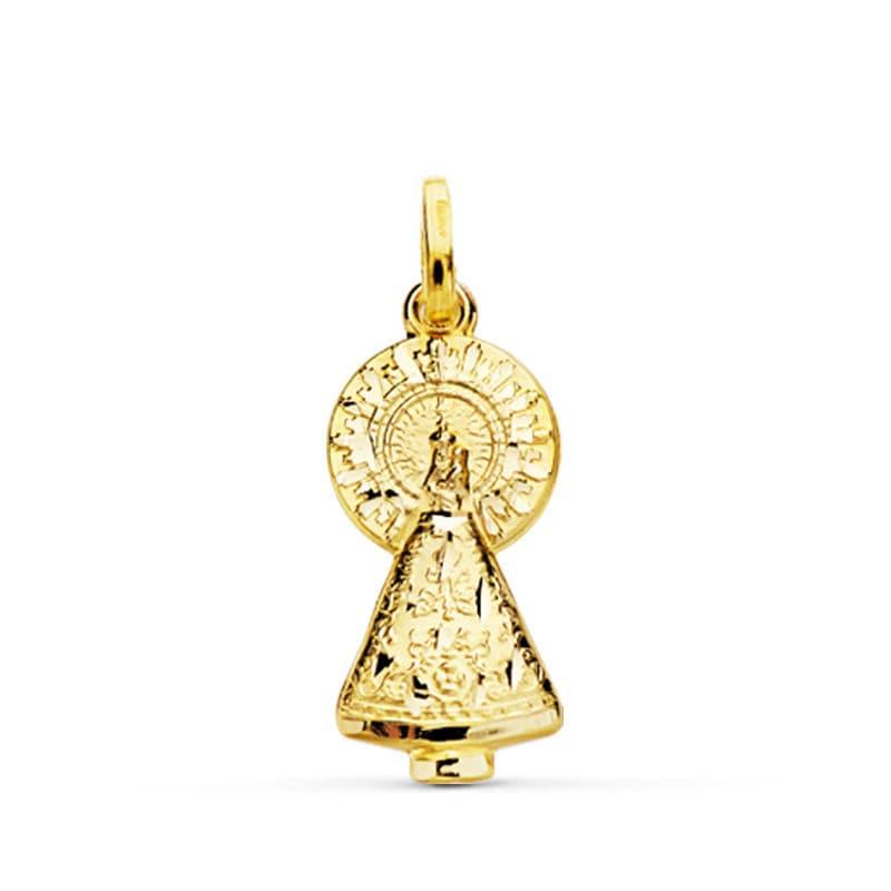 Silueta Virgen del Pilar 25 X 11 Mm. 1,85 Grs