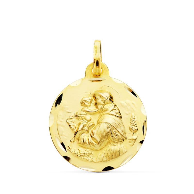 Medalla San Antonio 18 Mm. 2.20 Grs