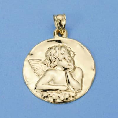 Medalla Angelito 28 Mm. 6.00 GrSan
