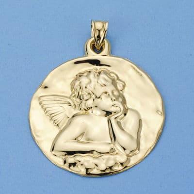 Medalla Angelito 35 Mm. 9.15 GrSan