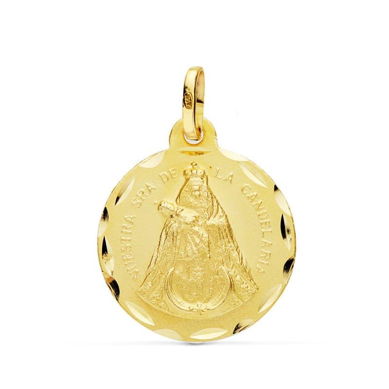 Medalla Ntra. Sra. De La Candelaria 18 Mm.