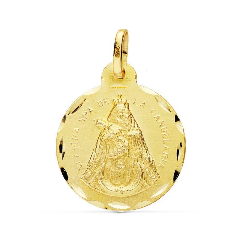 Medalla Ntra. Sra. De La Candelaria 20 Mm.