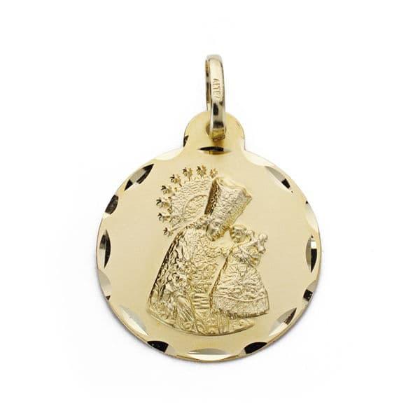 Medalla Virgen de los Desamparados 20mm. 2.75Grs