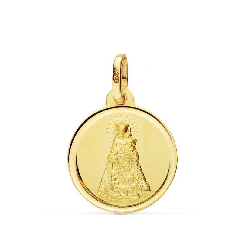 Medalla Virgen de los Desamparados 16mm. 1.75Grs