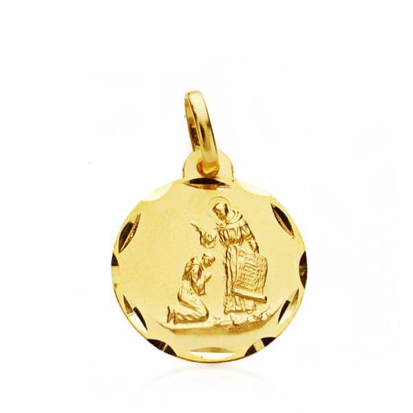 Medalla Bendición San  Francisco. 1.50 Grs