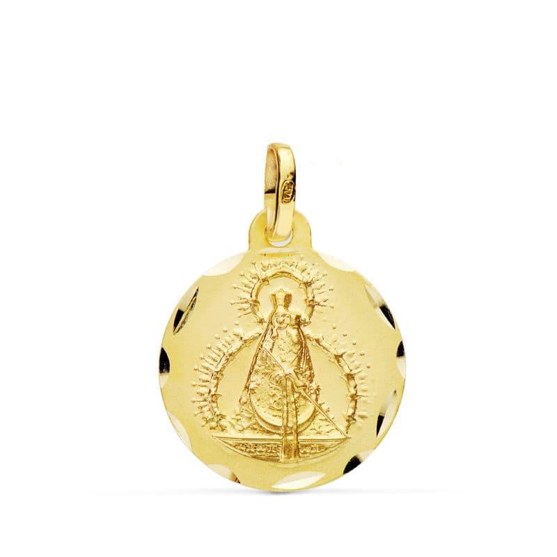 Medalla Virgen De La Cabeza.16 Mm. 1.85 Grs