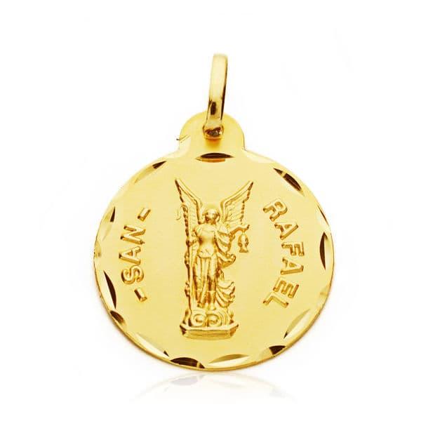 Medalla San Rafael 20 Mm. 2.70 Grs