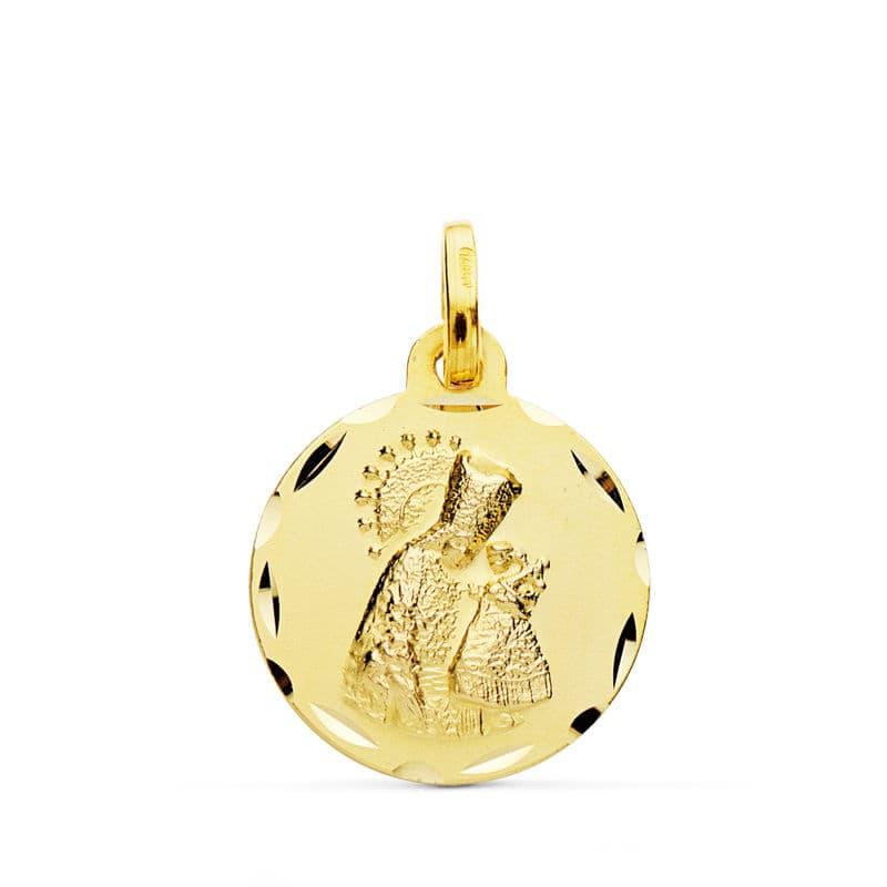 Medalla Virgen de los Desamparados 16 Mm. 1,85 Grs