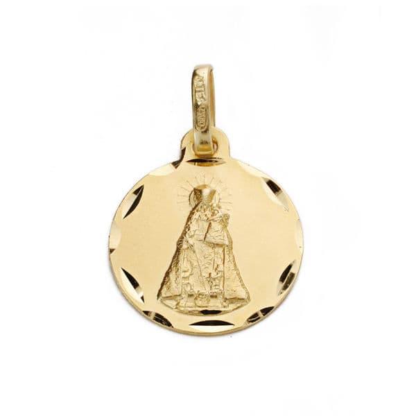 Virgen del  De Los DesamparadoSan  14mm. 1.40grs