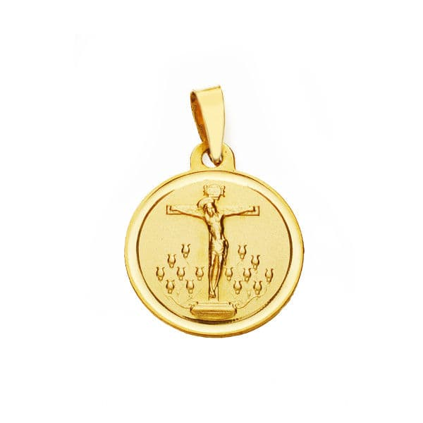 Medalla Cristo De La Laguna 16mm. 1,85gr