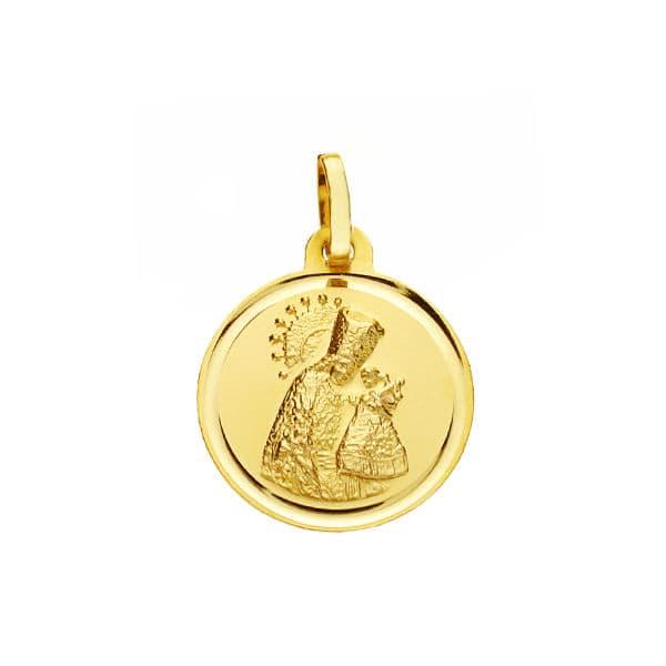 Medalla Virgen de los Desamparados 16 Mm. 1,80 Grs