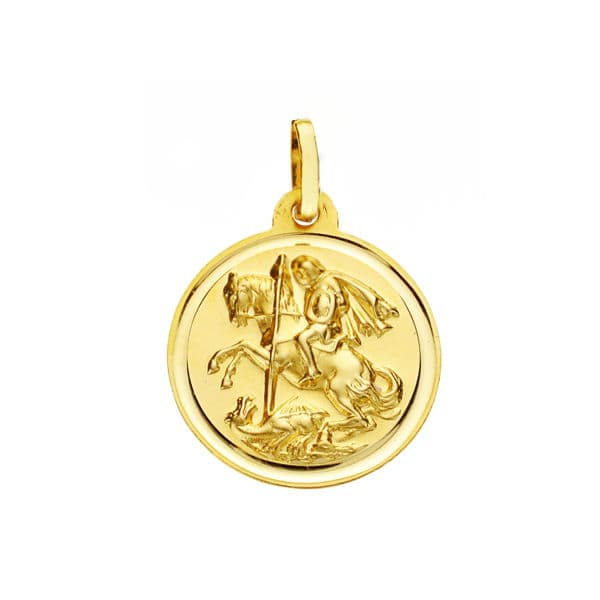 Medalla San Jorge 18 Mm. 2,15 Grs