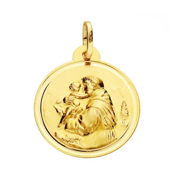 Medalla San Antonio 22 Mm. 3,10 Grs