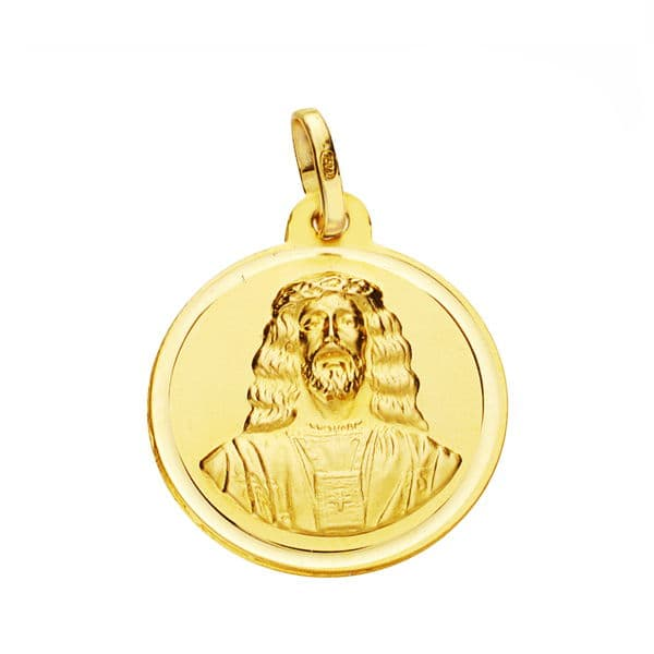 Medalla Cristo Medinaceli 18 Mm. 2,15 Gr