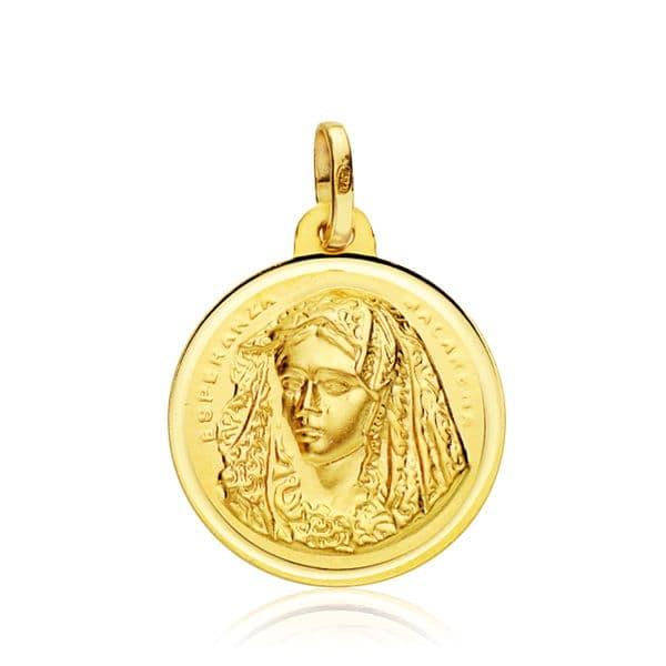 Medalla Virgen del Macarena 18 Mm. 2,20 Grs