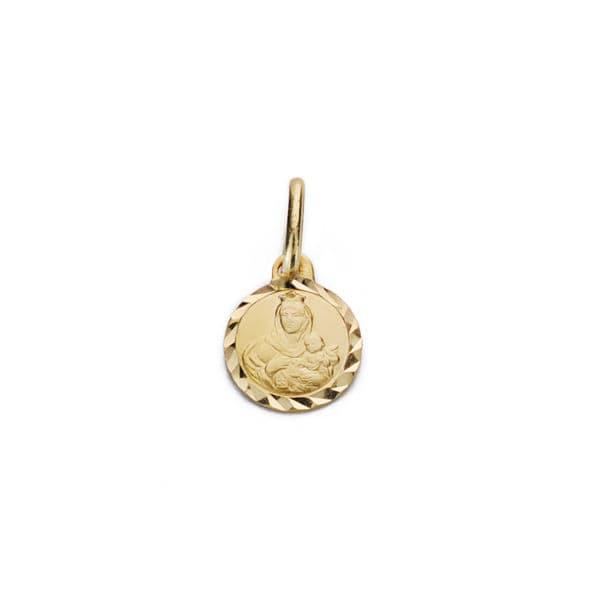 Medalla Virgen Del Carmen 7 Mm.