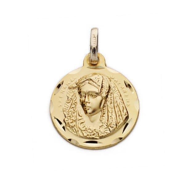 Medalla Macarena. 16 Mm. 1,80 Grs
